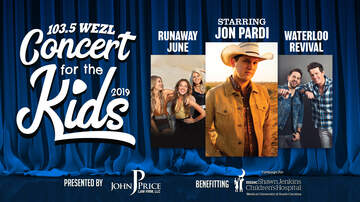 Concert for the Kids - Concert for the Kids Lineup Revealed: Jon Pardi, Runaway June and more!