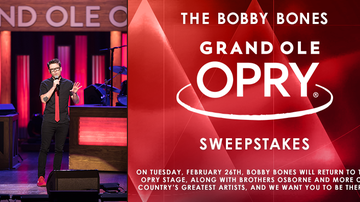 Contest Rules - Bobby Bones Grand Ole Opry Sweepstakes Rules