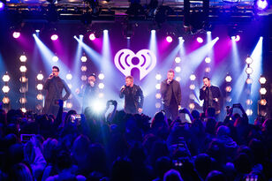 Backstreet Boys Celebrate 'DNA' During Epic Album Release Party