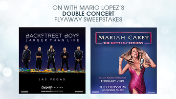 Contest Rules - Mario's Double Concert Flyaway Sweepstakes Rules