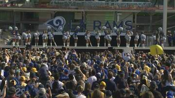 JoMaestro - VIDEO: Thousands Of Fans Gather And Rally As Rams Head to THE BIG GAME!