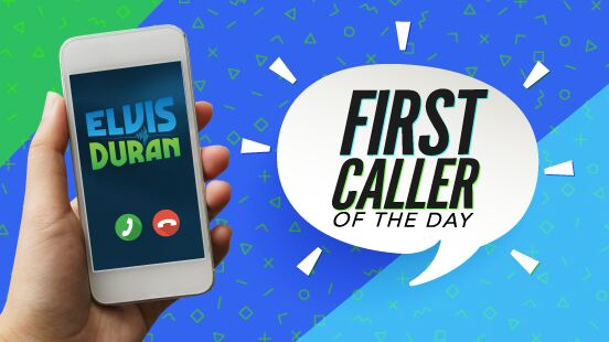 Elvis Duran First Caller Of The Day