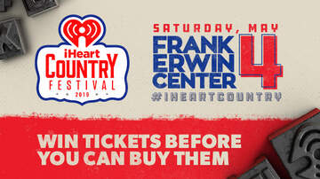 Contest Rules - Listen To Win Tickets To Our iHeartCountry Festival Before You Can Buy Them
