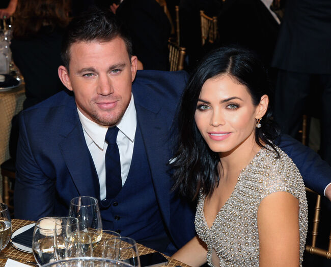 Actor Channing Tatum (L) and actress Jenna Dewan Tatum attend The 18th Annual Hollywood Film Awards at The Palladium on November 14, 2014 in Hollywood, California. CASAMIGOS Tequila is brought to you by those who drink it. (Photo by Jonathan Leibson/Getty Images for CASAMIGOS Tequila)