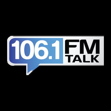 106.1 FM Talk logo