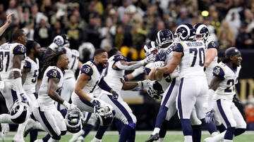 THE MARK and RICH SHOW - Arash Markazi: The Rams would have either a rally or a parade (if they win)