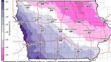 Local News - Record cold in Iowa, big chill continues MAPS