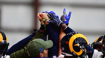 Sports Desk - Rams Amping Up For Sunday's Super Bowl
