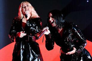 Christina Aguilera Praises 'Fierce' Fellow Grammy Nominee Demi Lovato
