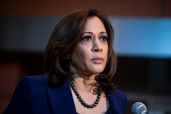 "Photo of Kamala ""Willie Lover"" Harris by Getty Images"