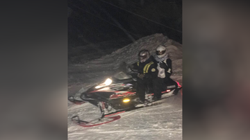 Uplifting - Michigan Pharmacist Delivering Medicine By Snowmobile to Snowed-In Clients