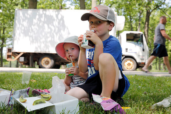 Heavy metals found in juice boxes for kids
