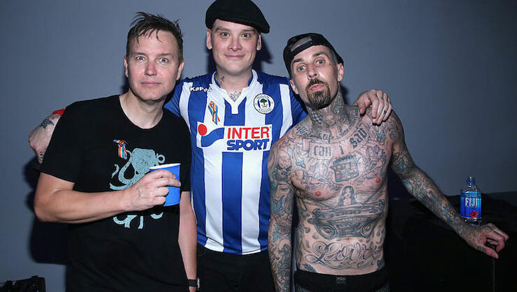 Blink-182 Teases New Song 'Darkside' | iHeartRadio