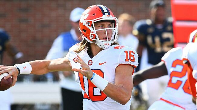 Trevor Lawrence being Tempted to Leave Clemson