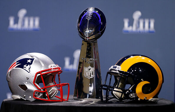 Super Bowl trophy  Getty Images