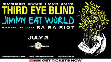 Contest Rules - Win tickets to Third Eye Blind with Jimmy Eat World Rules