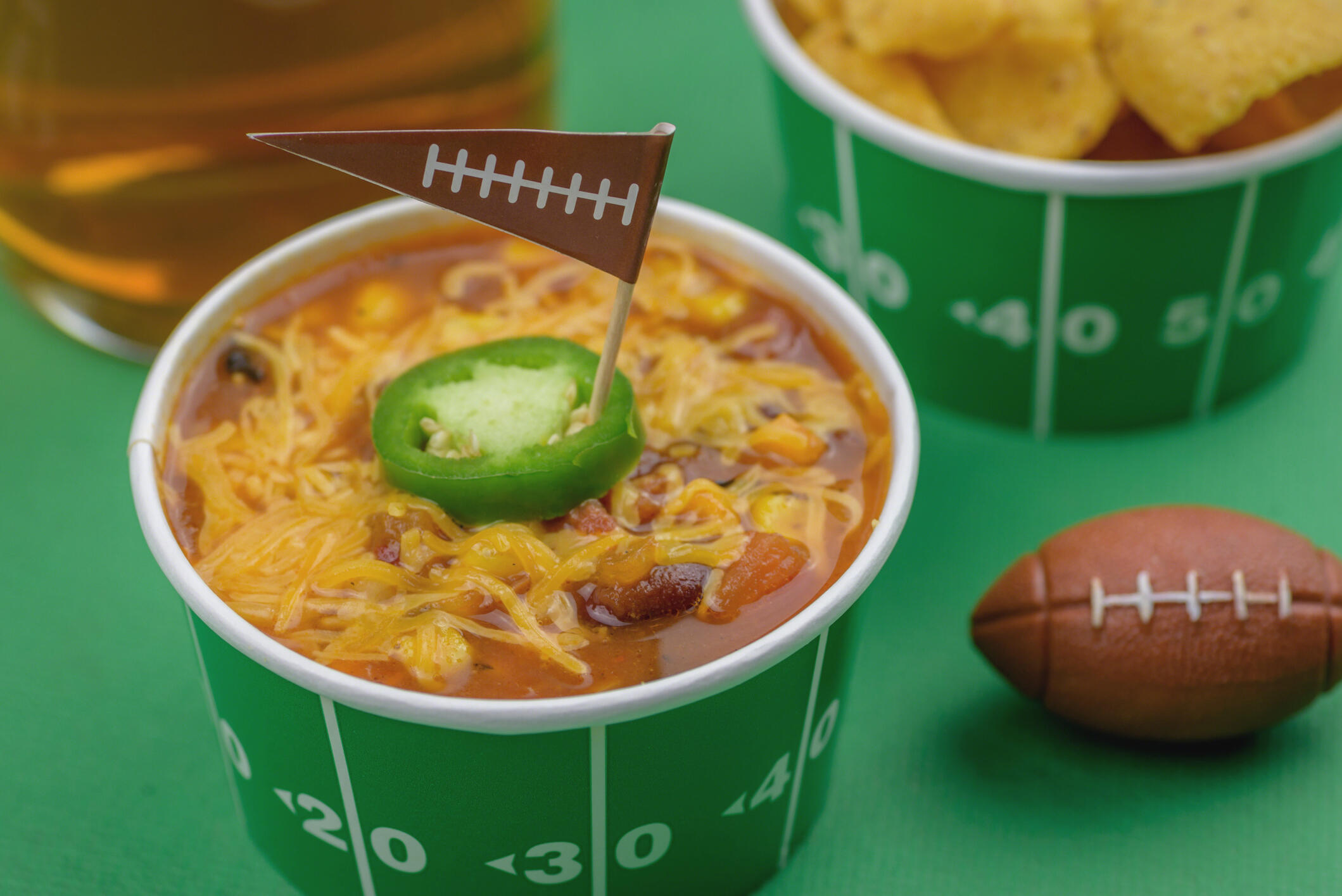 Super Bowl Sunday: How Much We're Eating & Alternatives To The Big Game