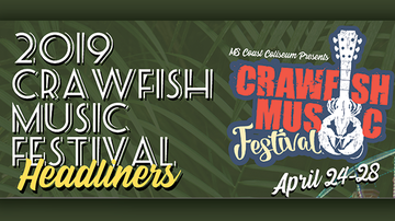 Kelly Bennett - Carousing with the local band at the Crawfish Music Festival.