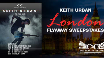 image for Keith Urban London Flyaway Sweepstakes Rules