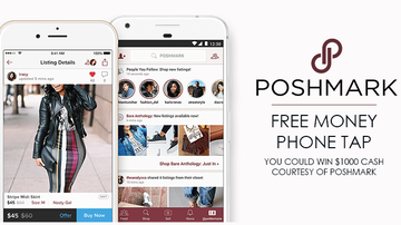 Contest Rules - Poshmark Free Money Phone Tap Rules
