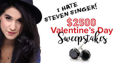 image for Steven Singer Valentine's Day $2500 Sweepstakes Rules
