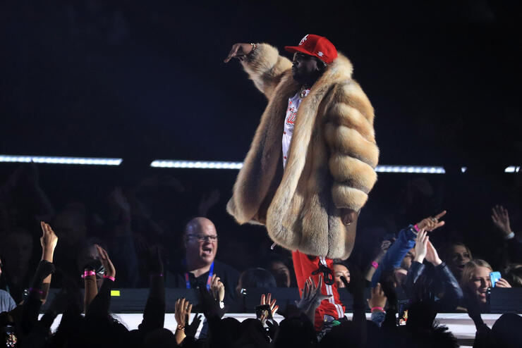 big boi performs live at Super Bowl LIII half time show