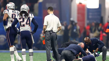 DJ Amili - Patrick Chung Out With Wrist Injury After Superbowl Halftime