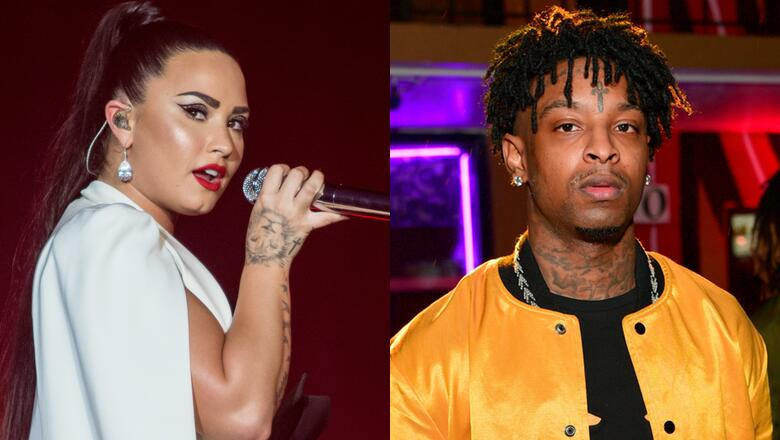Image result for Demi Lovato quits Twitter after 21 Savage backlash