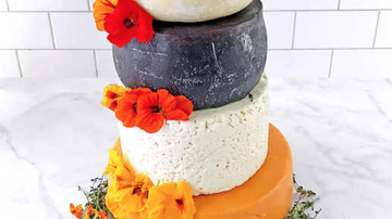 Bobby Bones - Food World: Costco Selling 5-Tier Wedding Cake Made Of Cheese