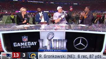 Paul and Al - Gronk Is Pumped To Have Three Rings!