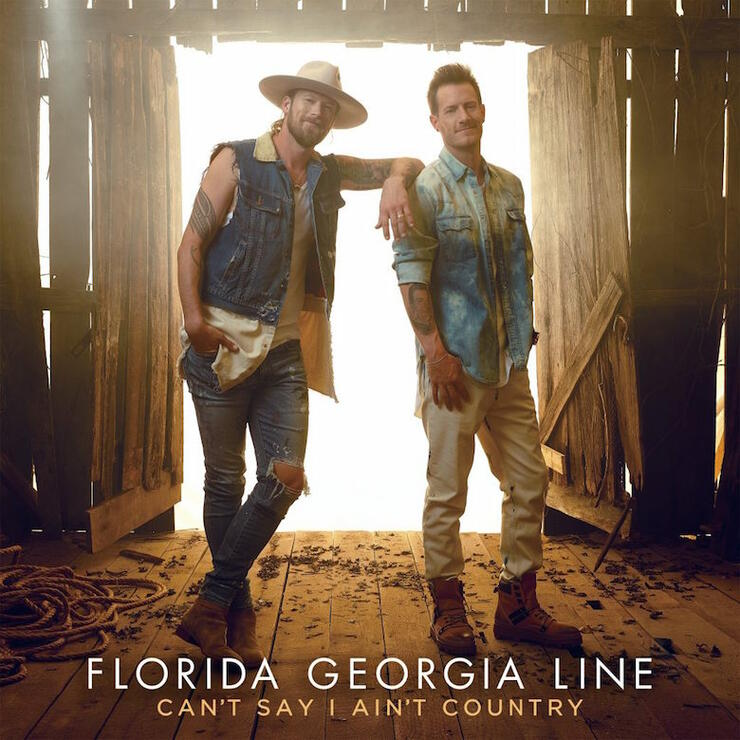 Florida Georgia Line - 'Can't Say I Ain't Country' Album Cover Art