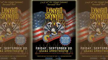 None - See Lynyrd Skynyrd at USANA Amphihteatre!