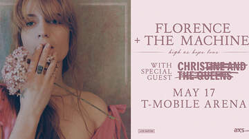 Buzzing Vegas - Florence and the Machine at T-Mobile Arena