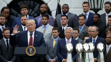 The Kuhner Report - Patriots players plan to skip White House visit
