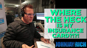 In-Studio Videos - You'll NEVER Believe Where I Found My Insurance Card...