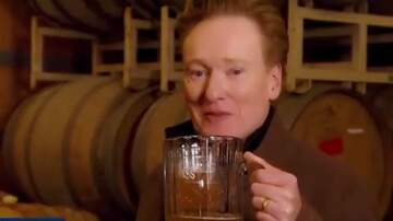 What's On Tap Radio -  Conan O'Brien Visits Sam Adams Brewery