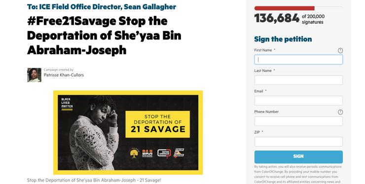 Cardi B, Nicki Minaj & More Defend 21 Savage, Pledge To 'Take Action