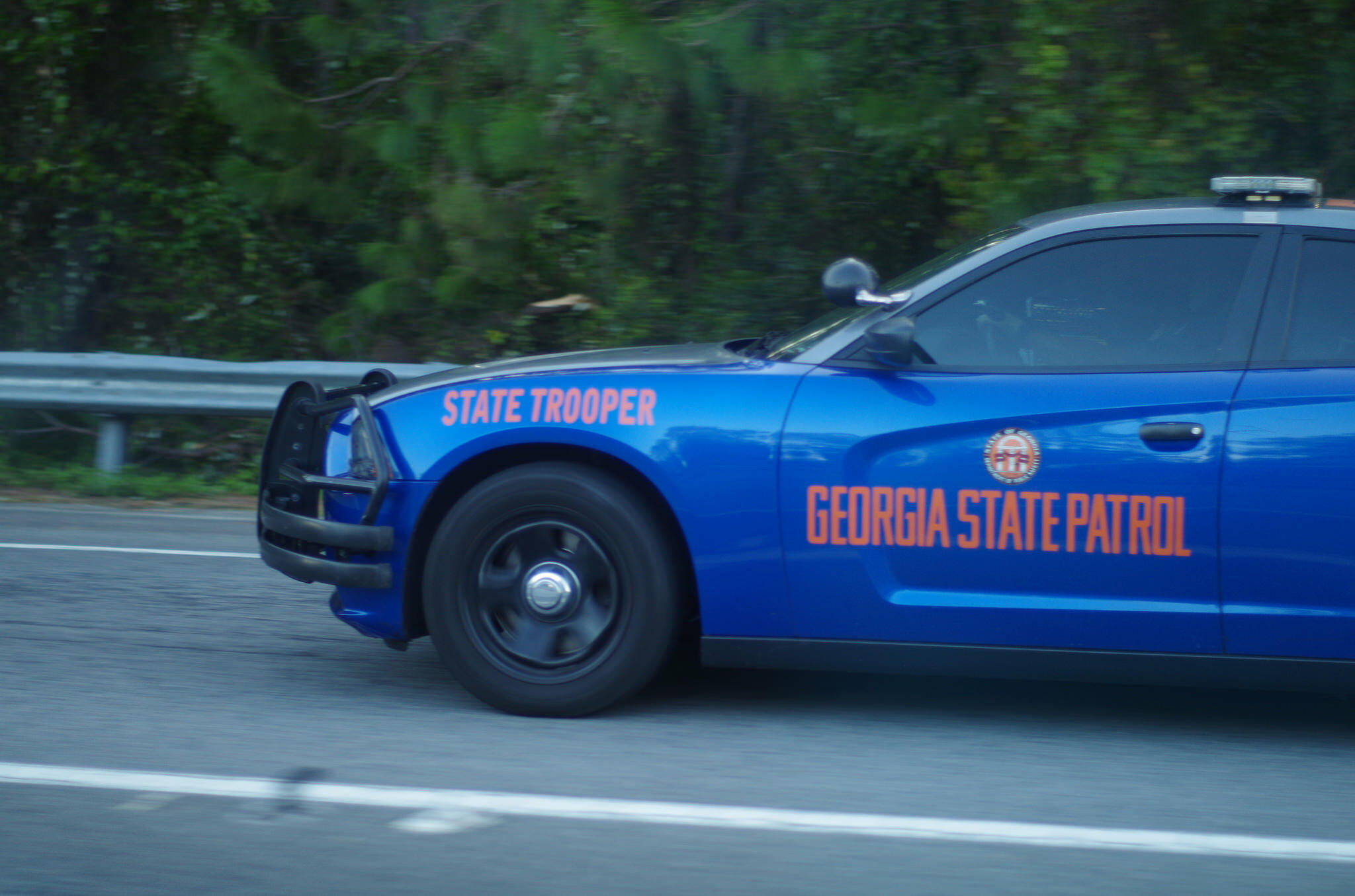 georgia state patrol will ticket you for driving in left lane | all