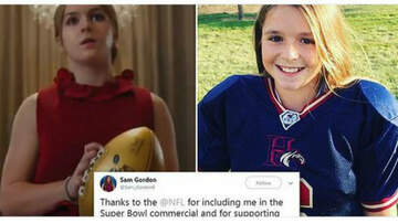 Conrad - Award-winning fb player has inspired all-girl leagues across the country.