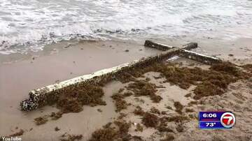 Coast to Coast AM with George Noory - Huge Cross Washes Ashore in Florida
