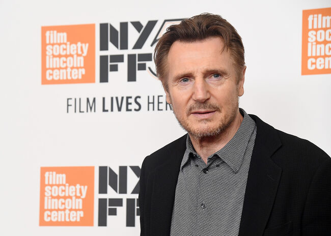 56th New York Film Festival - 'The Ballad Of Buster Scruggs' - Arrivals NEW YORK, NY - OCTOBER 04: Liam Neeson attends the screening of 'The Ballad of Buster Scruggs' during the 56th New York Film Festival at Alice Tully Hall, Lincoln Center on October 4, 2018 in New York City. (Photo by Nicholas Hunt/Getty Images)