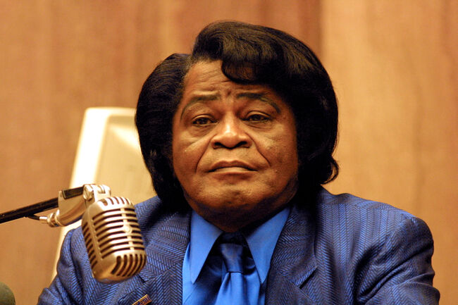 Singer James Brown In Court 400609 01: Singer James Brown testifies in Los Angeles Superior Court during court proceedings involving a lawsuit against the singer and his former company James Brown Enterprises West for sexual harassment and wrongful termination by a former employee Lisa Ross Agabalaya February 5, 2002 in Los Angeles, CA. Brown's current company, the New James Brown Enterprises, is not involved in the lawsuit. (Photo by Frederick M. Brown/Getty Images)