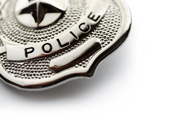 Police Badge Generic Getty RF