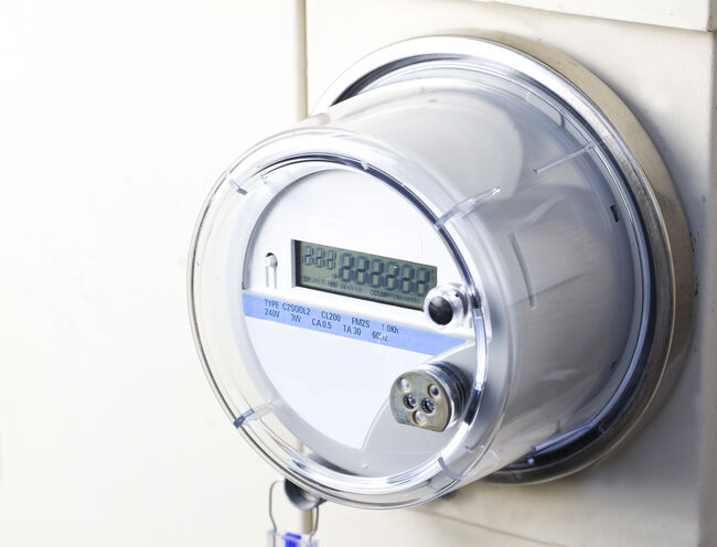 Smart Electric Meter Getty RF