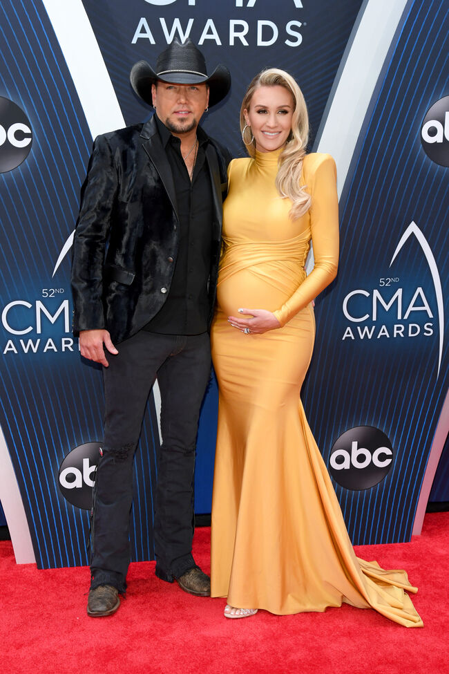 Getty jason and pregnant birttany aldean