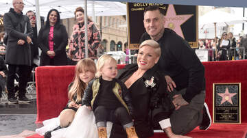 Lisa Foxx - Pink Receives Star On The Hollywood Walk Of Fame