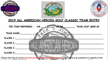 None - Zack & Jim's 2019 All American Heroes Golf Classic