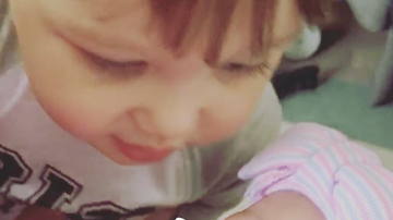Jay & Amy - Jason Aldean's boy Memphis Gives New Baby Sister Sugar!