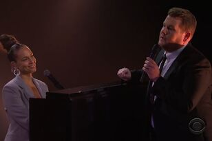 Alicia Keys & James Corden Spoofed 'Shallow' — But It Sounds So Good!