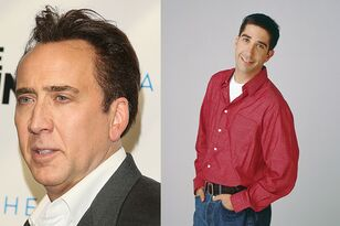 This Face-Swap Between Nic Cage And Ross From Friends Will Leave You Shook